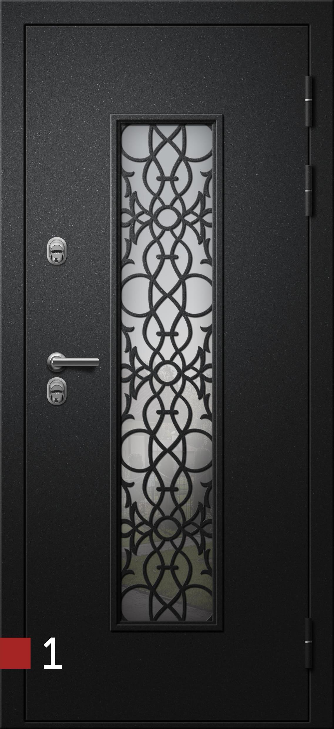 Двери термо(Termo) Хаски-4s ковка