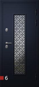 Двери Termo Хаски-2s ковка